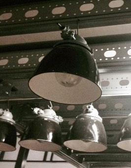 alte Fabriklampe Industrielampe fra nr 1