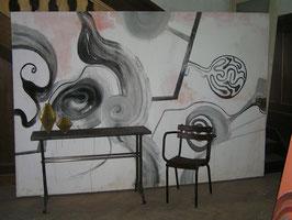 Überdimensionales Bild Acry auf Leinwand Nr 2501-01