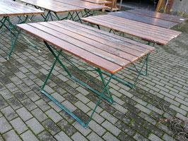 alte Klapptische Biergartentische Nr 1811-02