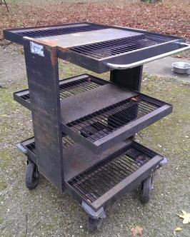 alter Werkstattwagen Werkstattregal auf Rollen (2 gleiche vorhanden) Nr 0405