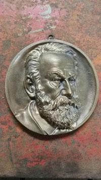 Protrait Victor Hugo Bronceguss oder Messingguss GI1403