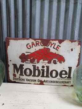 Cooles Emailleschild Mobilorl Gargoyle Nr 0807
