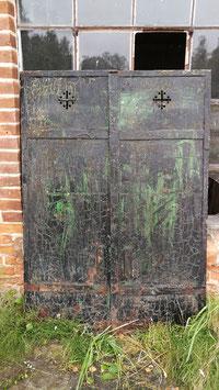 historische Eisen Fensterläden Nr 0810