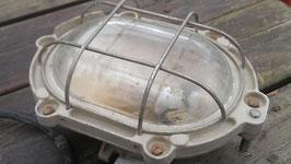 kleine Exlampe Bunkerlampe aus Frankreich