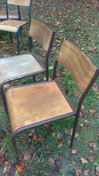 1 Paar Schulstühle Stapelstühle Nr. 0711