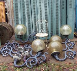 alte Lampen-Ausleger Wandlampen Laternen Wandleuchten Jugendstil Nr 0502