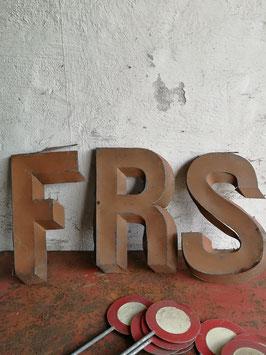 alte Buchstaben Vintage Nr 2510-02rest