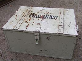großer Eisenkoffer Eisentruhe Nr 2401