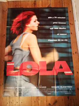 Filmposter 157 x 115 Nr.  47 - Lola rennt - Lola cours
