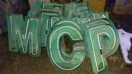 alte Leuchtbuchstaben 60 cm Nr. 1312rest