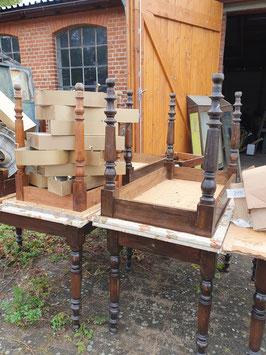 antike Tischgestelle alter Tisch Nr 0910