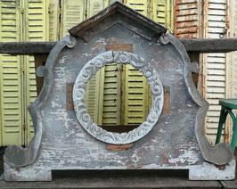 Traumhafte Fensterumrandung aus Holz für Spiegel Nr 1501