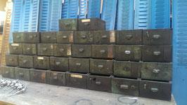 alte Holzschubladen vom Schubladenschrank für Tresenbau etc. Nr 0312