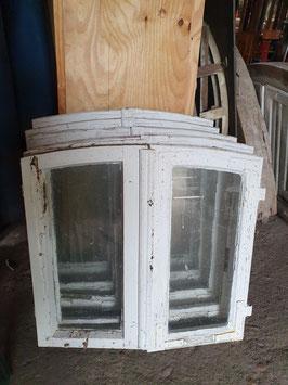 5 schöne, kleine Fenster Holzfenster OHNE Rahmen Nr 2906-02
