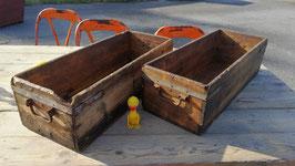 1 Paar alte Schubladen aus einer Werkstatt Nr 3108-02