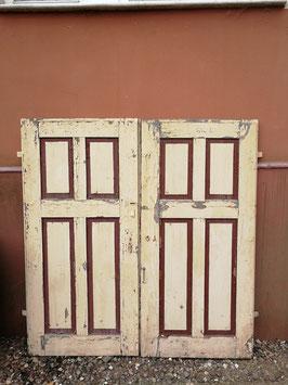 2 Paare Fensterläden Holz