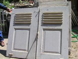 1 Paar alte Fensterläden aus Holz Holzläden Nr 1202
