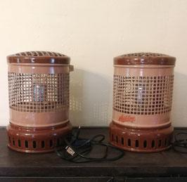 1 Paar Originelle Tischlampen Laternen aus kleinen Öfen gefertigt