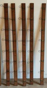 alte antike Garderobenleisten Hakenleisten Garderobe 200 cm Nr 1410