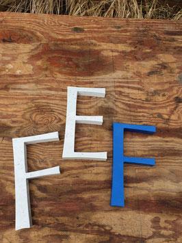 alte Buchstaben aus Metall 1005-05rest