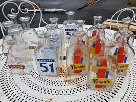 alte Pastis Flaschen Ricard, Pastis 51, Casanis Nr 1410