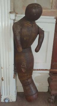 alte antike Leder Ringerpuppe Lederpuppe Nr 2107