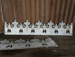 historische gusseiserne  Zierteile für Fenster Zink Nr 0507