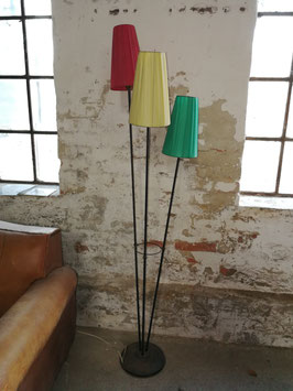 lustige bunte Stehlampe aus den 50er Jahren Nr 0201