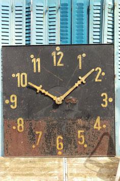 Tolles altes Ziffernblatt einer Kirchturmuhr Turmuhr 151
