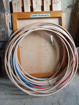 alte Hoolahoop Ringe Holz 0109