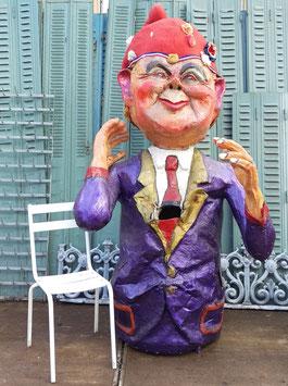 großes Parade Kostüm Karneval Fasching Figur Zwerg 215 cm