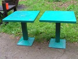 2 Stück alte Tolix Tische