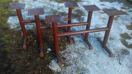 altes Tischgestell für Kindertisch braun Nr. 2302-03sim