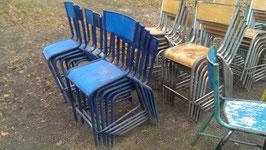 alte Schulstühle Mullca Hochstühle 54 cm
