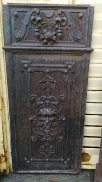 Traumhafte alte Ofenplatte aus Gusseisen Gründerzeit Nr 1203-05
