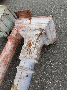 alte Gusssäulen Säulen historische Säulen sehr groß Nr 1407-01