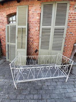 antikes Metall Kinderbett aus Frankreich Nr 0110-01