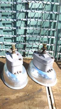 1 Paar Alu Lampen Köpfe von Strassenlaternen Nr 2404