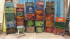 Superschöne alte Bierkisten Raritäten!