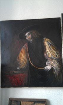 altes Ölgemälde Gemälde Bild