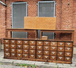 großer Schubladenschrank Apothekerschrank Sidebord  Nr 0710