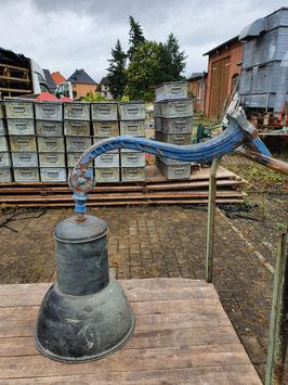 Historische Wandlaterne Wandleuchte Kupfer Industriell Nr 0610-01
