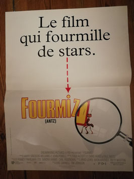Filmposter 53 x 40 cm Nr 75 Antz - Fourmiz