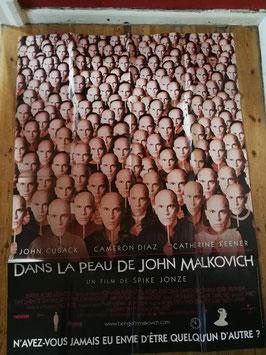 """Kinoplakat 157 x 117 """"Dans le Peau de John Malkovich"""" Nr 36"""