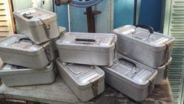 alte Aluboxen Brotdosen als Geschenkidee