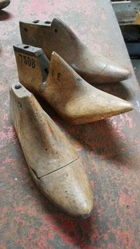 alte besondere antike Schuhleisten Damenhackenschuh NR 2803-05
