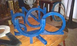 alte Buchstaben blau 32 cm (rest)