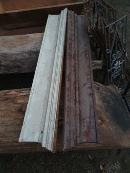 alte antike Türbekrönung aus Holz Gründerzeit Nr 0503
