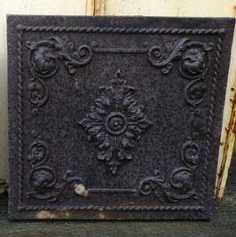 Traumhafte alte Ofenplatte aus Gusseisen Gründerzeit Nr 1203-02
