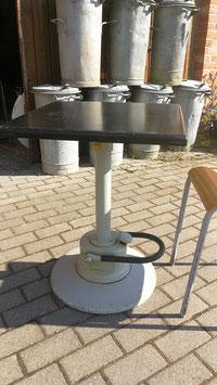 altes Tischgestell mit Hubvorrichtung höhenverstellbar